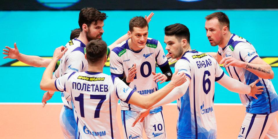 Петербургский «Зенит» победил «Нолико» в первом матче полуфинала Кубка ЕКВ