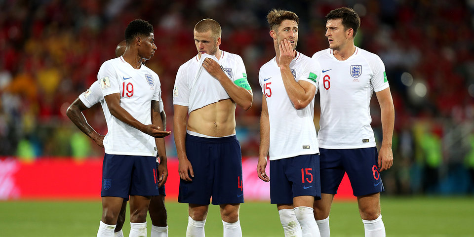 Англия не нужна в плей-офф. Она сама себя выпорола