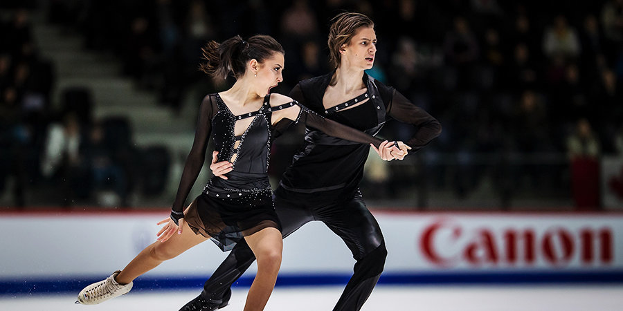 Фигуристы Шанаева и Нарижный занимают 3-е место после ритм-танца на Budapest Trophy