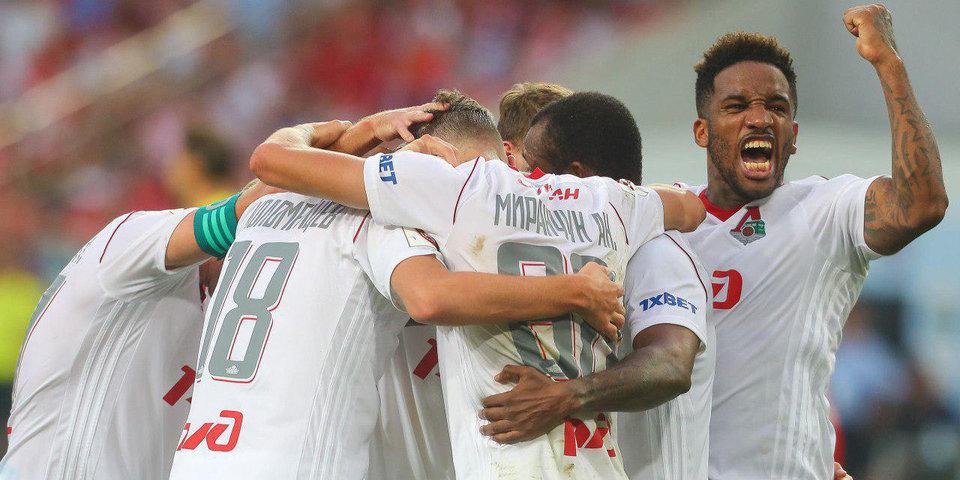 «Локомотив» забил «Спартаку» 4 гола после удаления Самедова и добился победы