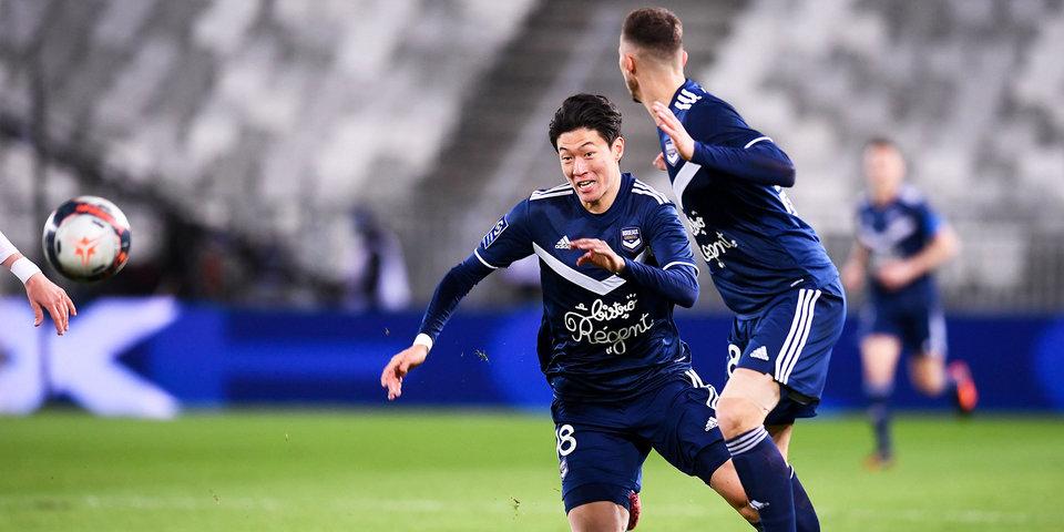 «Бордо» на домашнем поле обыграл «Ренн» в чемпионате Франции