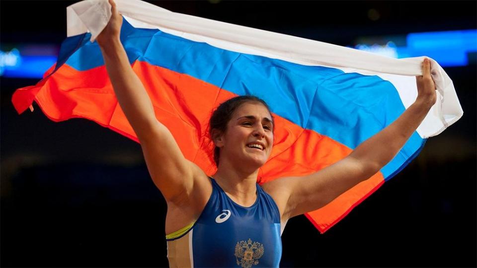 Воробьева выиграла золото ЧМ в категории до 72 кг
