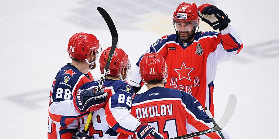 Второй раунд Кубка Гагарина стартовал с синхронных побед фаворитов