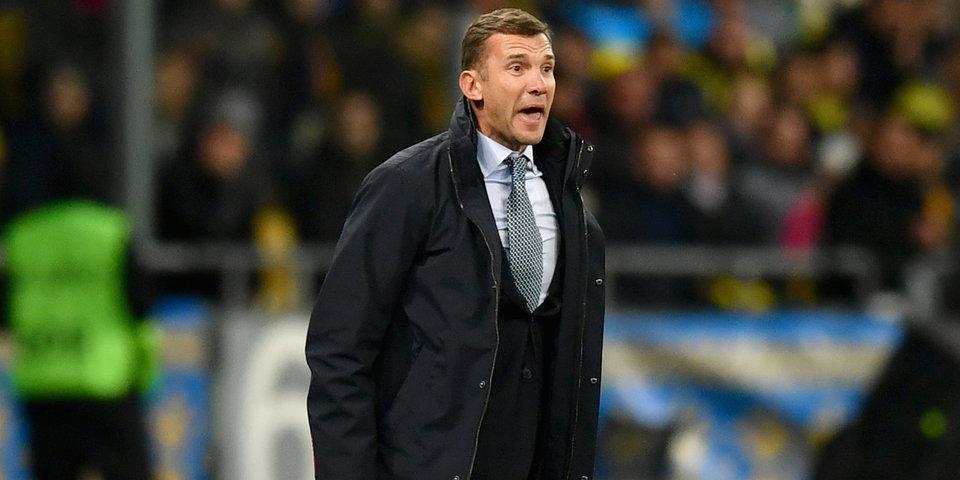 Андрей Шевченко: «Из третьей корзины, наверное, нам выпала самая сильная команда из возможных — Сербия»