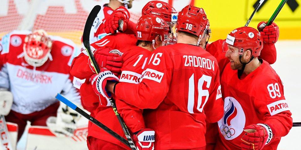 Стали известны составы звеньев сборной России перед матчем со Швейцарией на ЧМ