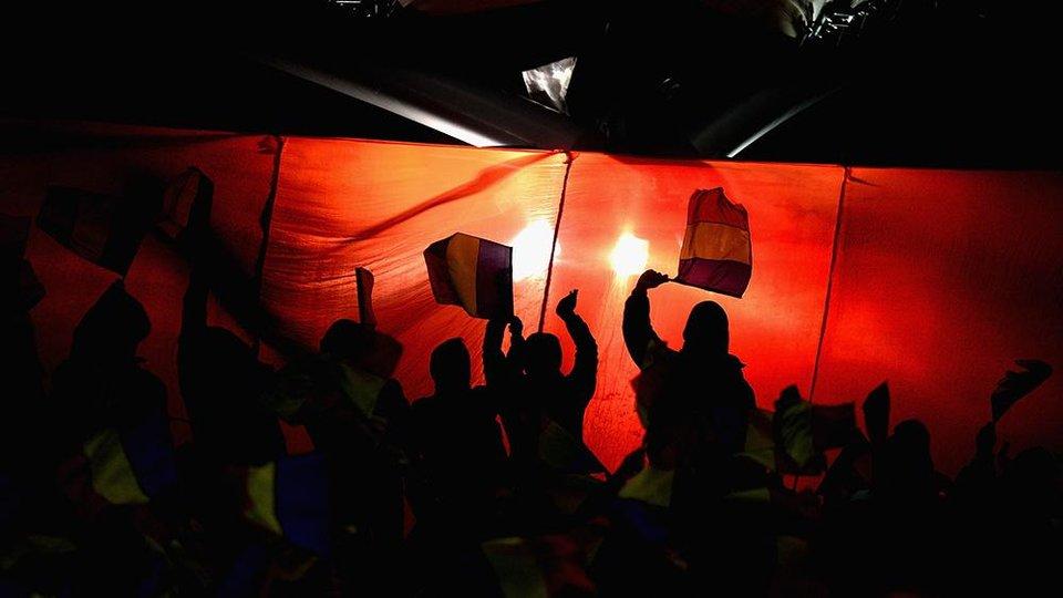 УЕФА открыл дело против сборной Румынии после матча Лиги наций с Сербией