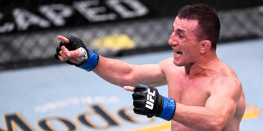 Грузинский боец UFC взял реванш у проруби, в которой он разбил голову (видео)