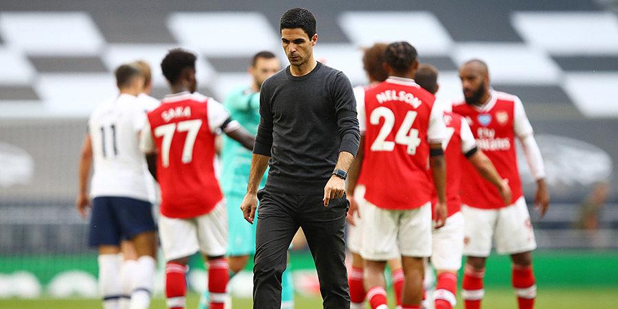 Микель Артета — о неудачах «Арсенала»: «Парни все еще бьются»