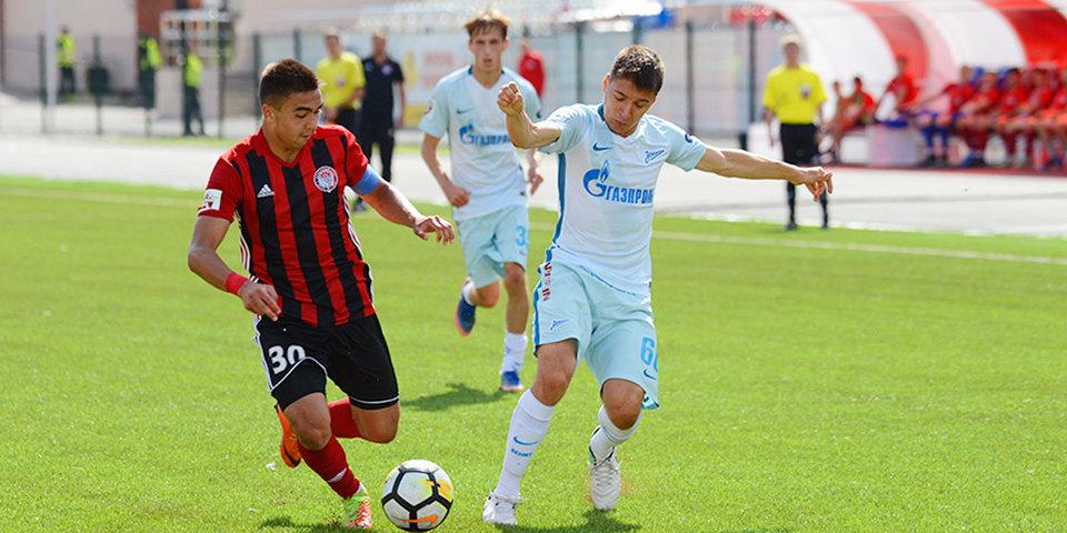 «Зенит» обыграл «Амкар» в матче молодежного первенства России