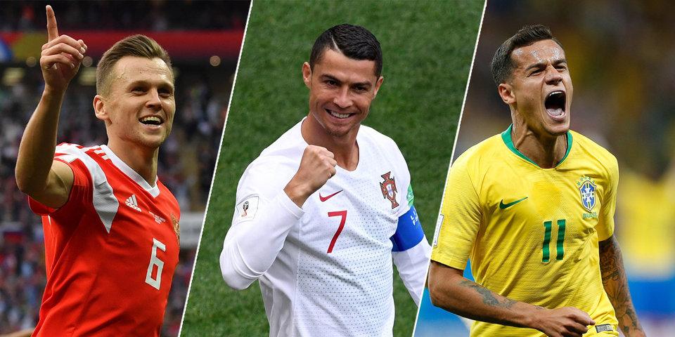 Черышев, Роналду или Коутиньо. ЧМ-2018: кто забил лучший гол на сегодняшний день?