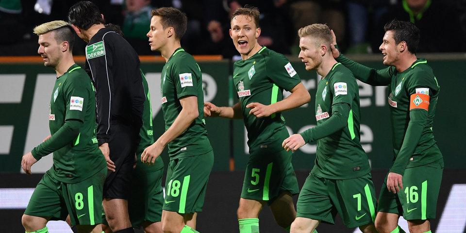 «Вердер» выиграл у «Вольфсбурга» и опередил «Баварию» в турнирной таблице