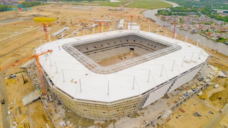 Стадион вКалининграде может открыться матчем «Балтики» совторым клубом Германии