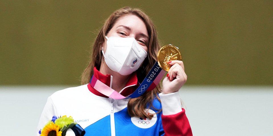 Бацарашкина завоевала вторую золотую медаль на Олимпиаде в Токио