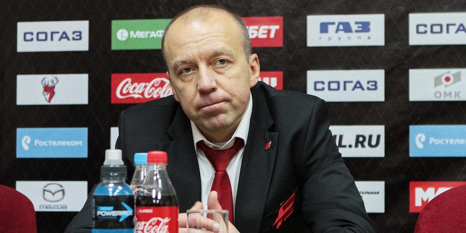 Андрей Скабелка: «Игроки «Барыса» вытащили матч и заработали одно очко»