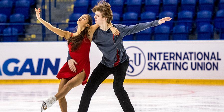 Российский дуэт Тютюнина и Шустицкий выиграл этап юниорского Гран-при в Австрии