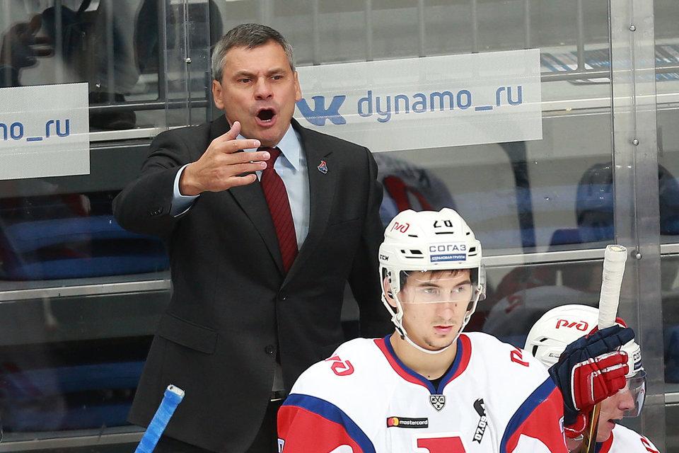 Дмитрий Квартальнов: «Хороший матч получился, довольны игрой «на ноль»