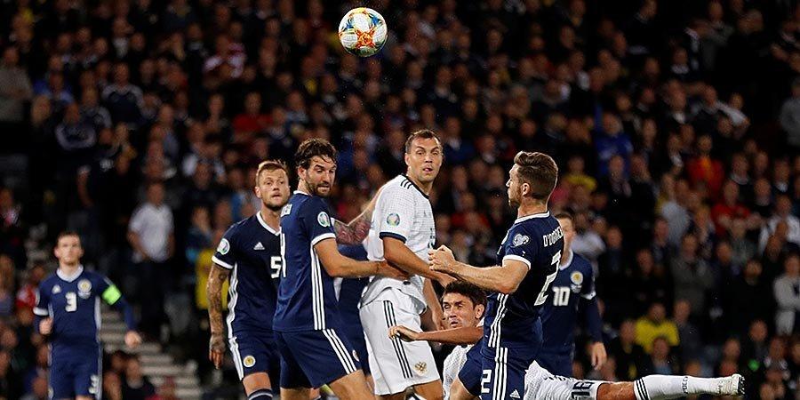 Cборная Шотландии назвала состав на матч отбора Евро-2020 против России