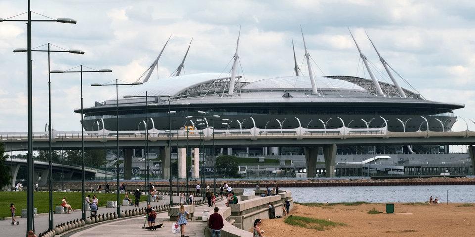 Пресс-центр «Санкт-Петербург Арены» перенесут на парковку