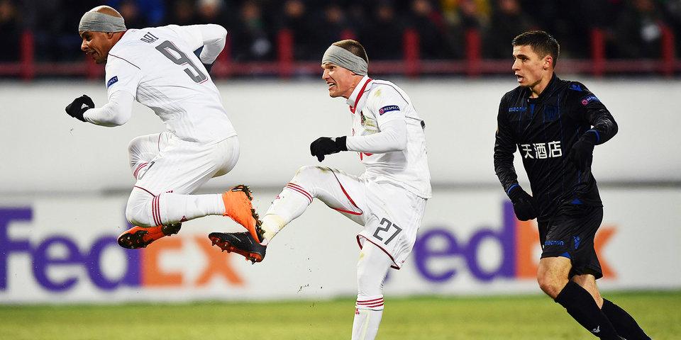 «Так и сказал игрокам: «Вы многого добились, раз на трибунах 20 тысяч в мороз». «Локомотив» едет дальше в Лиге Европы