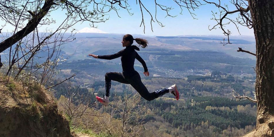 Дарья Нидбайкина — фотохудожник, прыгающая тройным лучше всех в России