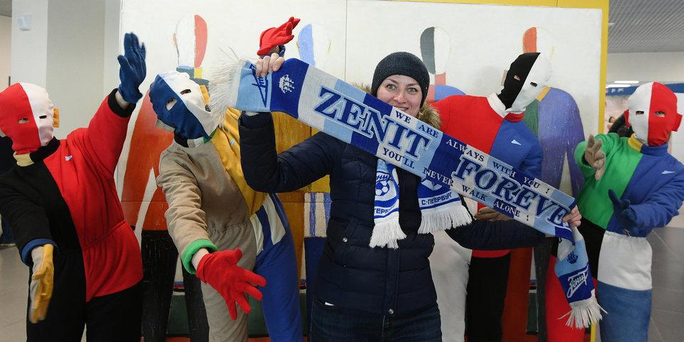 Три болельщика «Зенита» лишены права посещать матчи клуба