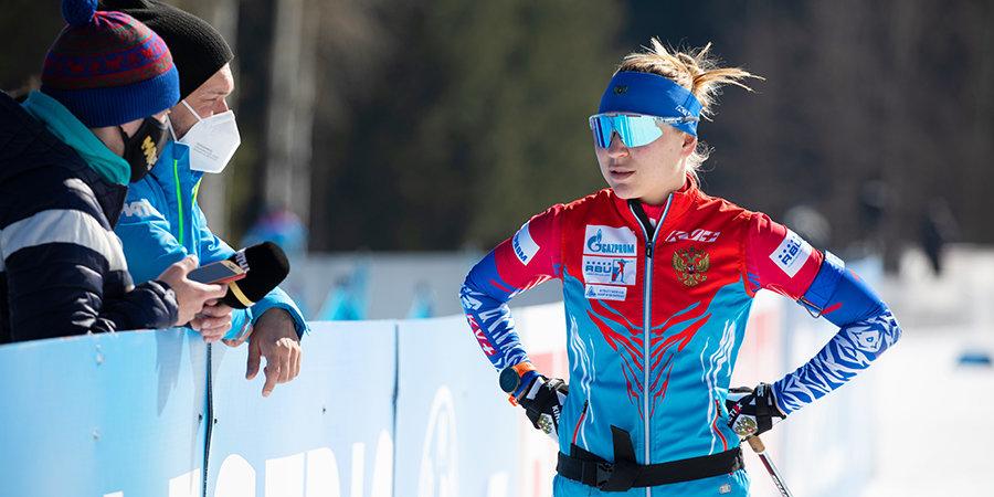 Павлова стала лучшей в спринте на чемпионате России