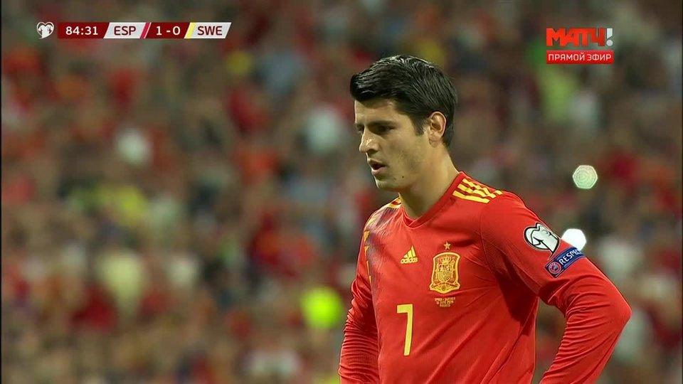 Футбол швеция испания 2- 0