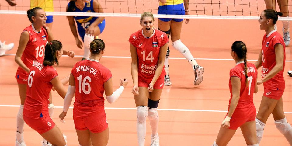 Сборная России обыграла Болгарию на чемпионате мира