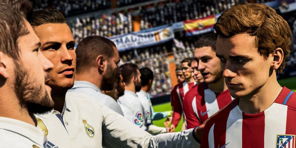 Узнаешь ли ты игрока по его изображению в футбольном симуляторе? Это очень сложно!