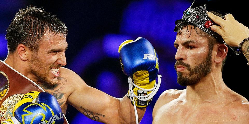 Ломаченко победил Линареса и завоевал пояс WBA