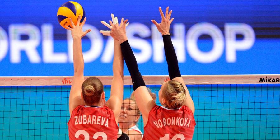 Российские волейболистки разгромили сборную Мексики в матче отборочного турнира к ОИ-2020