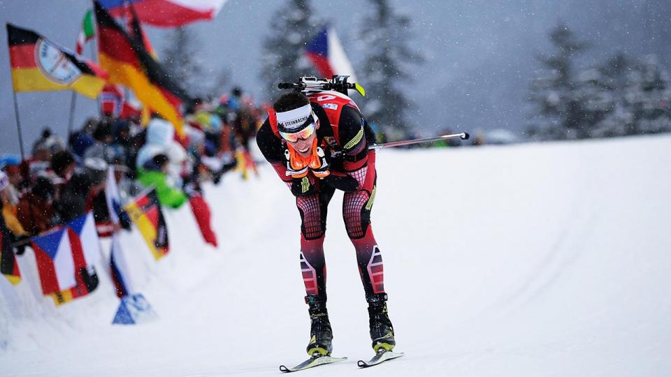 Эберхард - лучший в немецком спринте, Фуркад и россияне - без наград