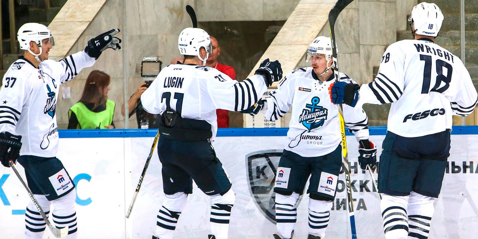 «Адмирал» вылетел на заключительный этап подготовки к новому сезону КХЛ