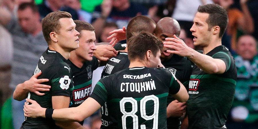 «Краснодар» выдавил ЦСКА из зоны Лиги чемпионов. Видео голов