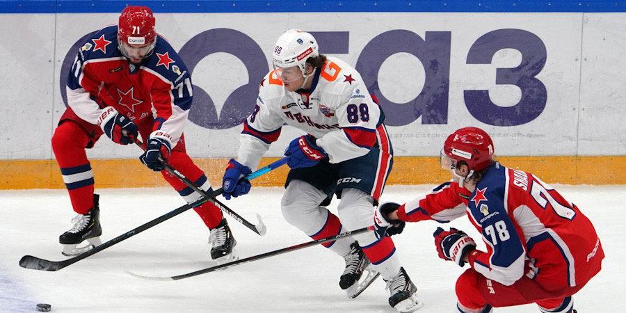 ЦСКА одержал третью победу над СКА в этом сезоне