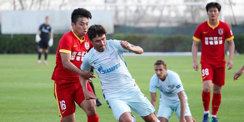 «Зенит» снова громит команду из Китая