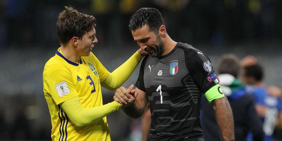 Ты— легенда: испанец Касильяс поддержал Буффона, драматично завершившего карьеру всборной Италии