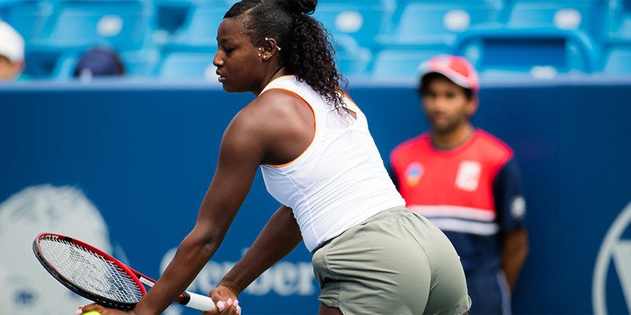 Американка Паркс повторила самую сильную подачу в истории женского US Open