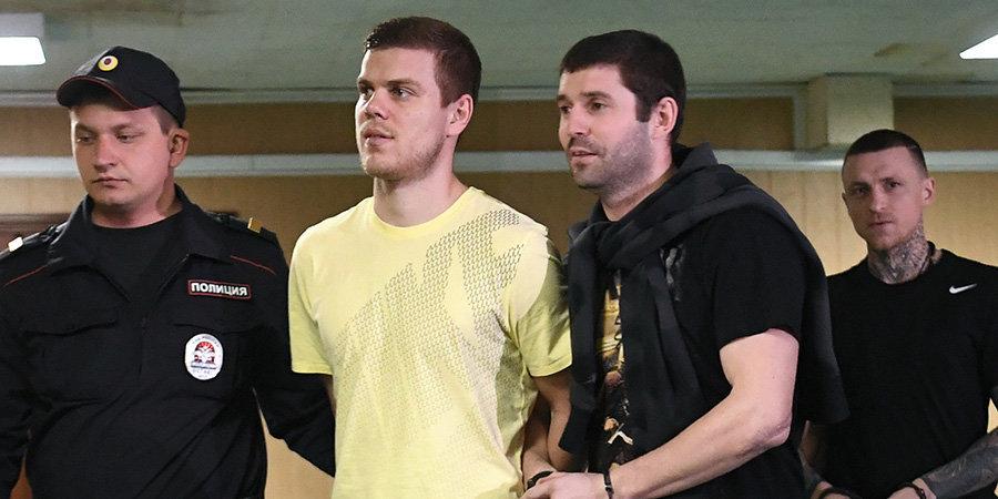 У Кокорина на последнем слове дрогнул голос, Мамаев извинился перед семьей. Им хотят дать полтора года тюрьмы. Главное