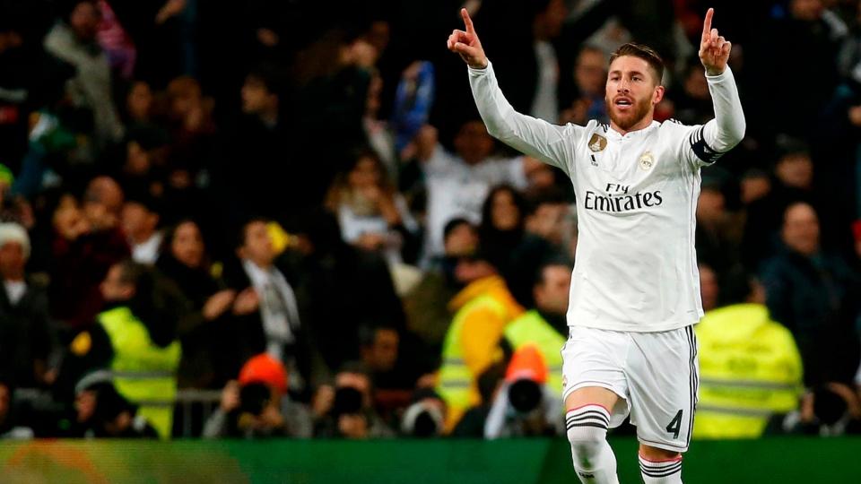 Рамос спас «Реал» от поражения на «Ноу Камп»