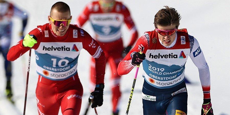 Маркус Крамер — о Большунове и Клебо: «Лыжным гонкам очень повезло, что сейчас есть два таких суперсильных спортсмена»