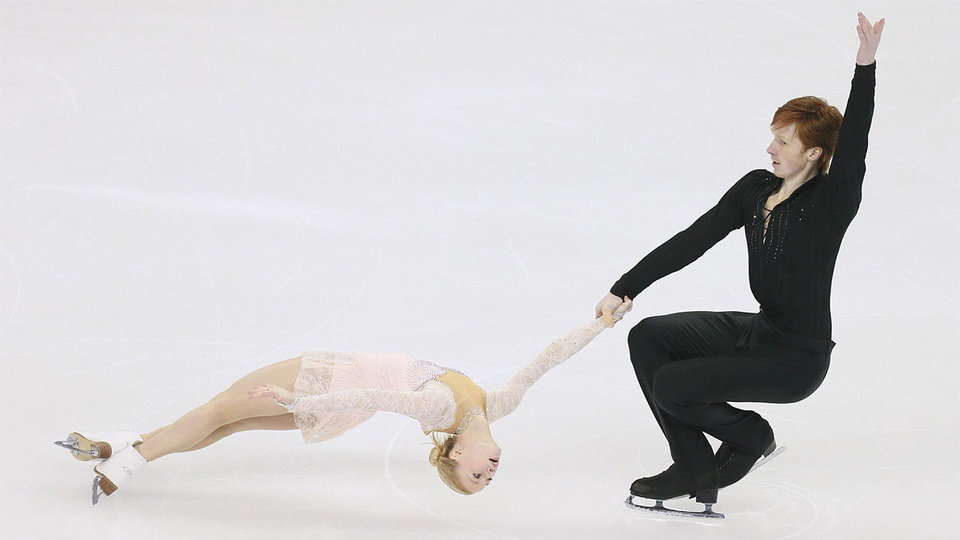 Тарасова и Морозов последними выйдут на лед в короткой программе в Пхенчхане