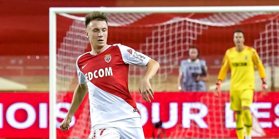 Головин отправился с «Монако» на матч против «Сент-Этьена»