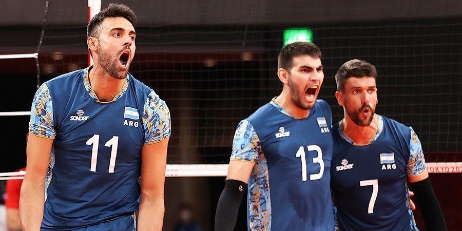 Аргентинские волейболисты взяли бронзу ОИ