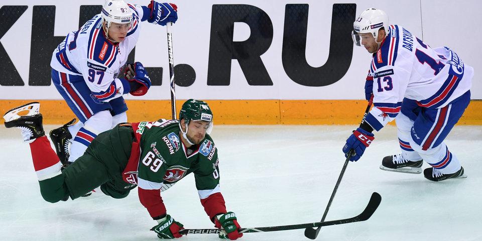 Цифры Кубка Открытия КХЛ
