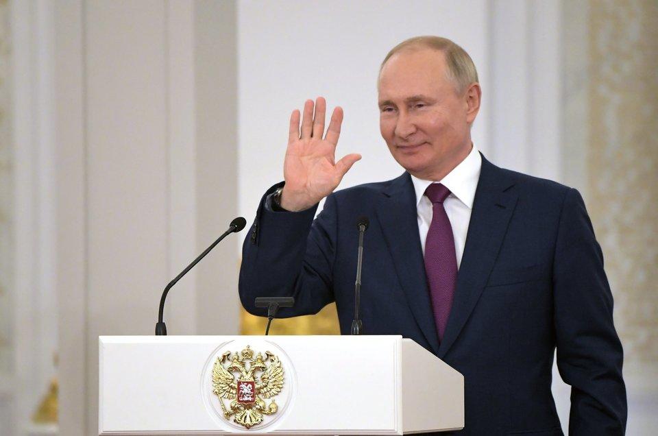 «Мы увидели, как велик потенциал российской национальной сборной». Главное о встрече Владимира Путина с олимпийцами (Видео)