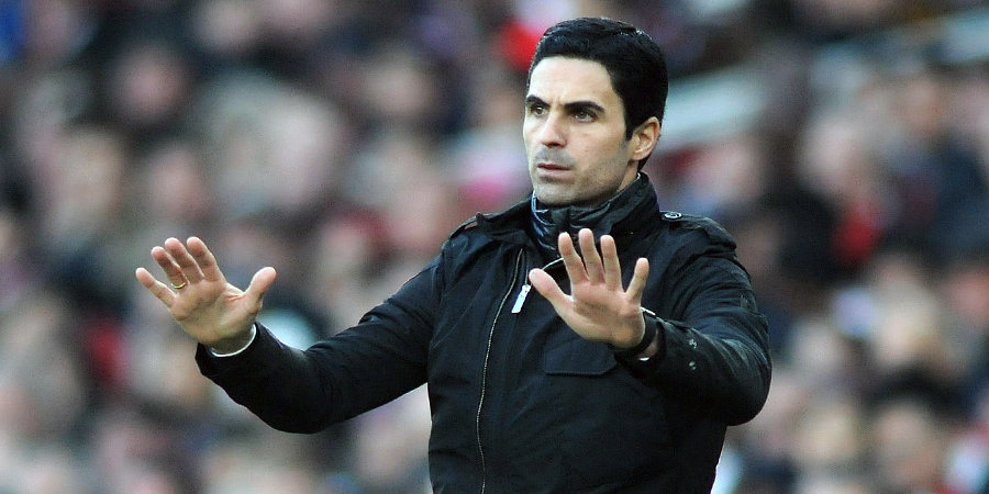 «Арсенал» сыграл вничью с «Кристал Пэлас», доигрывая матч в меньшинстве