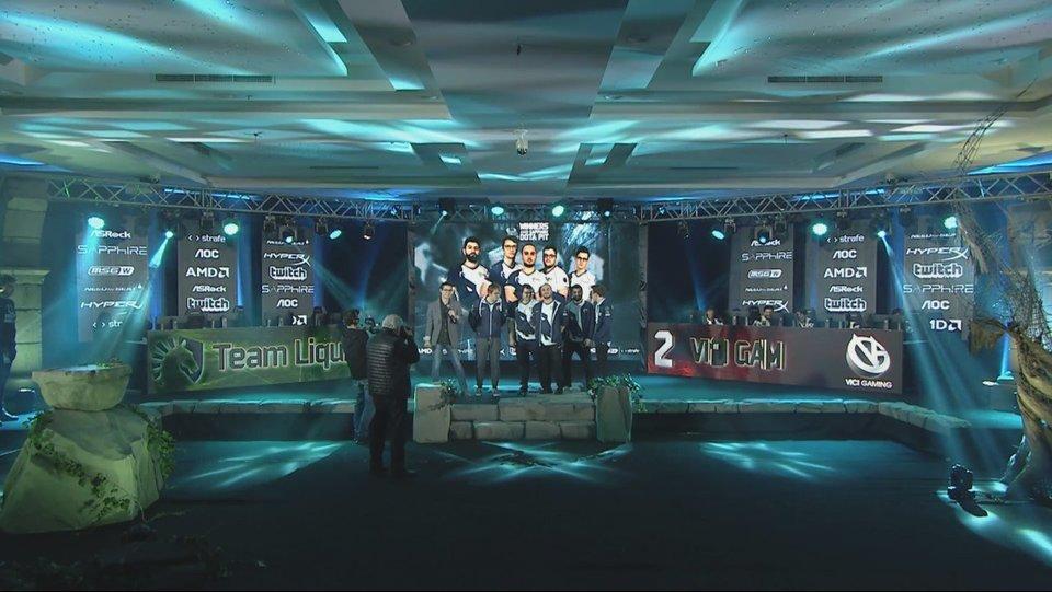 DOTA 2: Team Liquid - чемпионы AMD SAPPHIRE Dota PIT