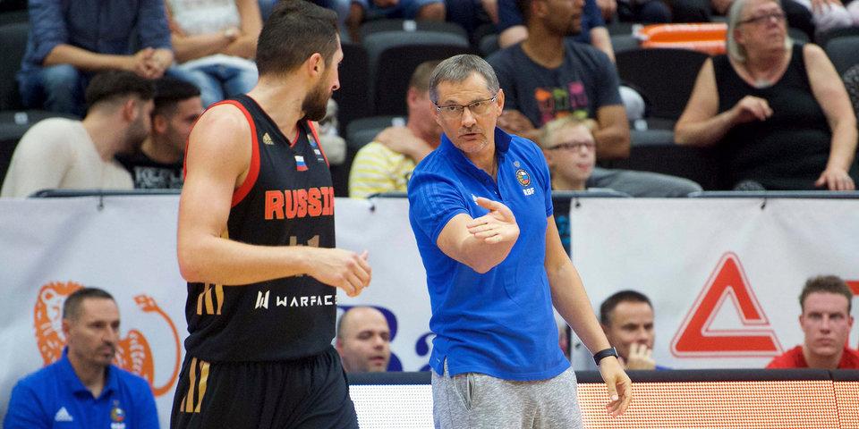 Сборная России потерпела третье поражение на турнире в Гамбурге