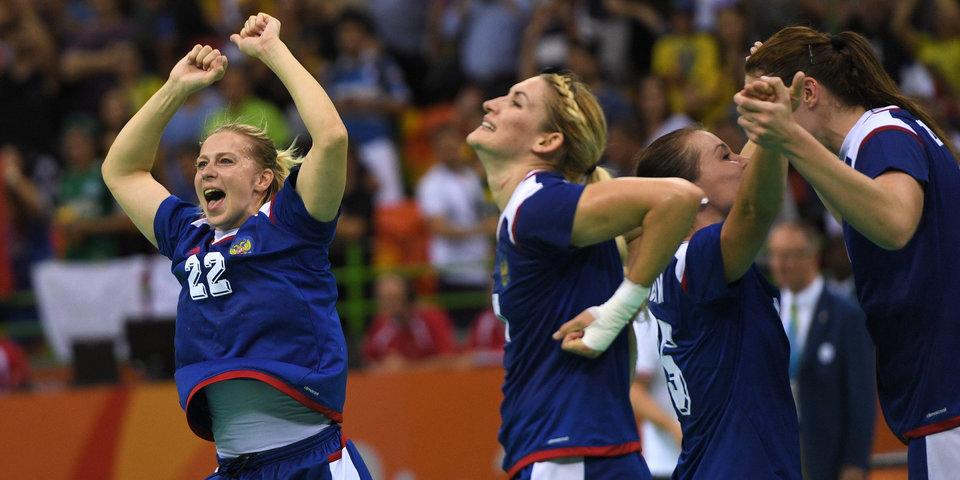 Российские гандболистки одержали вторую победу на чемпионате Европы